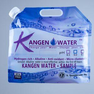 Kangen Water - торба за вода 5л.