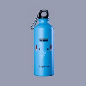 синя детска бутилка Канген